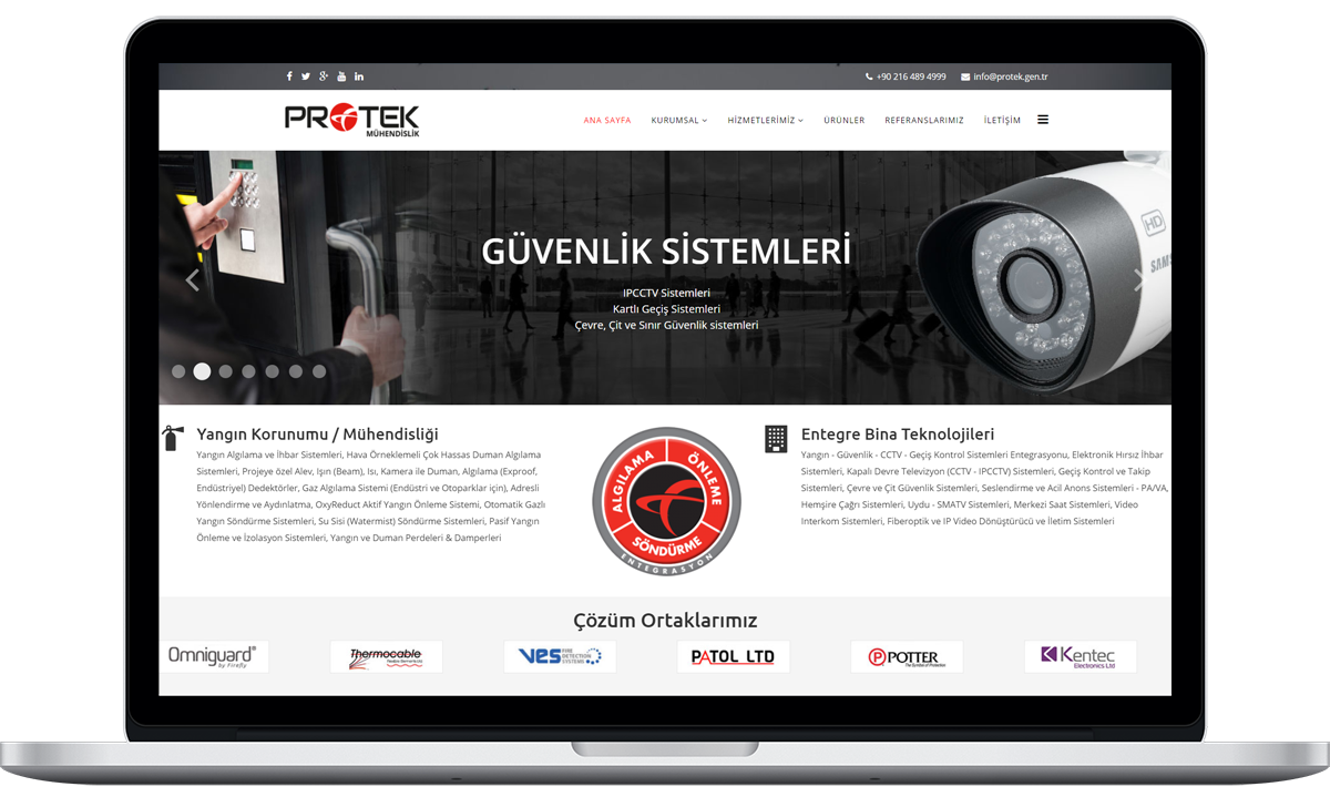 protek-muhendislik-website-tasarimi